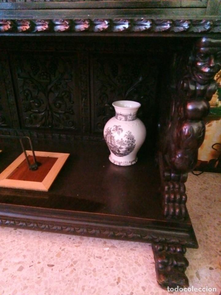 Antigüedades: Salón completo renacimiento español - Foto 9 - 180425703