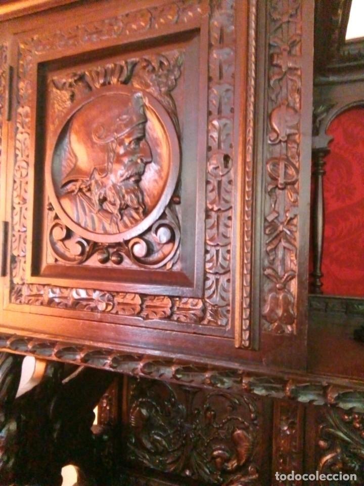 Antigüedades: Salón completo renacimiento español - Foto 11 - 180425703