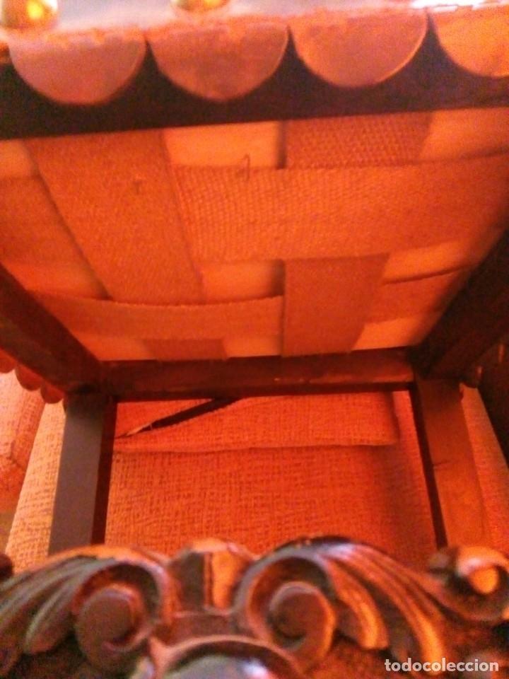 Antigüedades: Salón completo renacimiento español - Foto 14 - 180425703