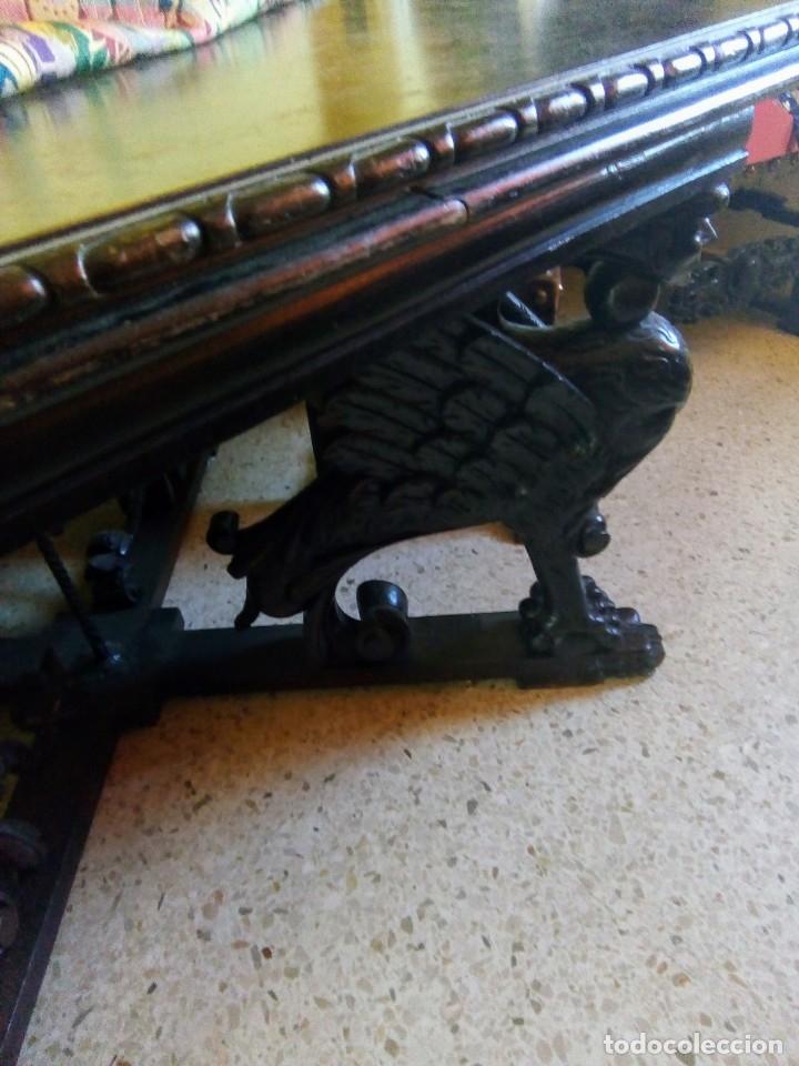 Antigüedades: Salón completo renacimiento español - Foto 16 - 180425703