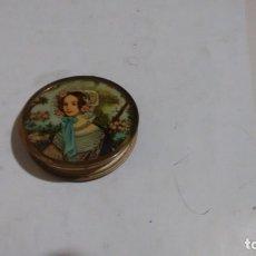 Antigüedades: POLVERA DE MUJER - ART DECO -. Lote 180431403
