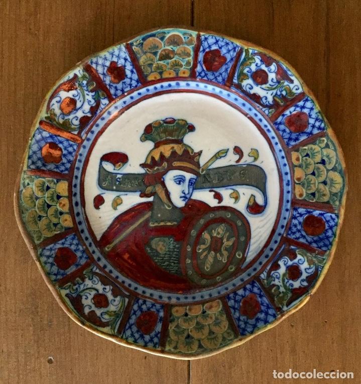 ALFREDO SANTARELLI. ITALIA 1874-1957. PRIMERA ÉPOCA (Antigüedades - Porcelanas y Cerámicas - Otras)