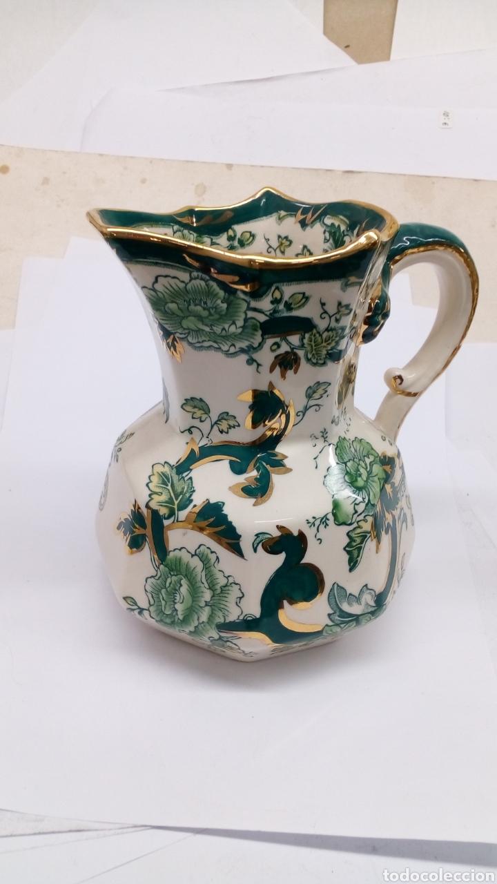 Antigüedades: Jarron de ceramica Manson's Chartreuse - Foto 2 - 180447318