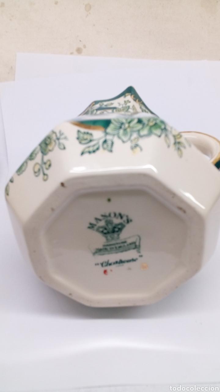 Antigüedades: Jarron de ceramica Manson's Chartreuse - Foto 3 - 180447318
