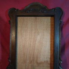 Antiquités: MARCO DE MADERA TALLADA. Lote 180450132