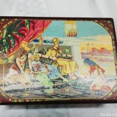Antigüedades: COSTURERO ANTIGUO DE MADERA. Lote 180457071