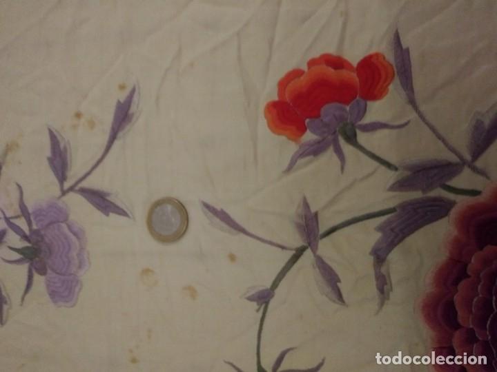 Antigüedades: ANTIGUO MANTON MANILA - Foto 5 - 180464572