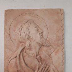Antigüedades: JESUS ORANDO. TERRACOTA. OBRA DE FRANCESC GASSO, UNA OBRA DE ARTE EN TU CASA. Lote 180468075