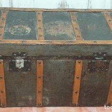 Antigüedades: ANTIGUO BAÚL SIGLO XIX. Lote 180471101