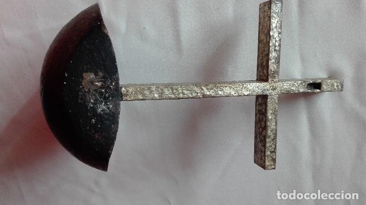 Antigüedades: BENDITERA DE HIERRO - Foto 6 - 180475590