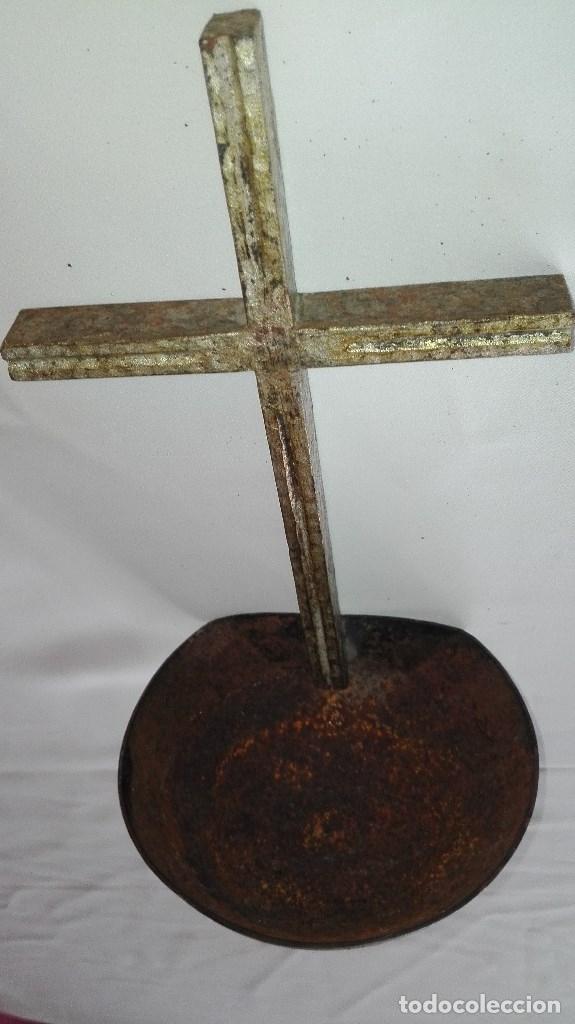 Antigüedades: BENDITERA DE HIERRO - Foto 8 - 180475590