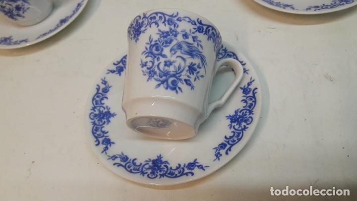 Antigüedades: Juego café o té Porcelana Alemana wunschen . Hacia 1950-60 - Foto 5 - 180477732