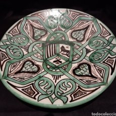 Antigüedades: PLATO CERÁMICA DOMINGO PUNTER. Lote 180484870