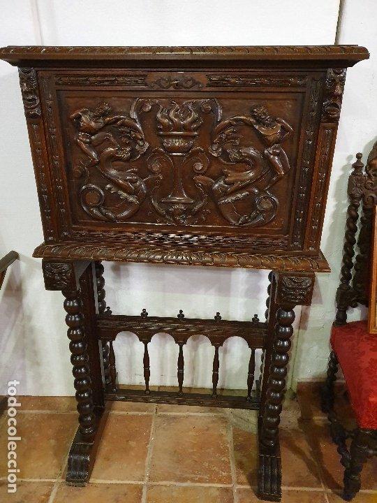 BARGUEÑO RENACIMIENTO (Antigüedades - Muebles Antiguos - Bargueños Antiguos)