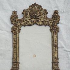 Antigüedades: ANTIGUO MARCO PORTAFOTOS DE LATÓN.. Lote 180495441