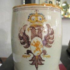 Antigüedades: JARRA DE TALAVERA - NIVEIRO. Lote 180499247
