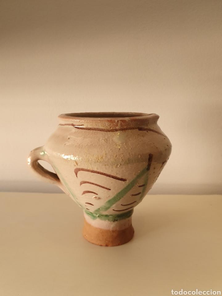 ANTIGUO MORTERO TERUEL XVII XVIII (Antigüedades - Porcelanas y Cerámicas - Teruel)