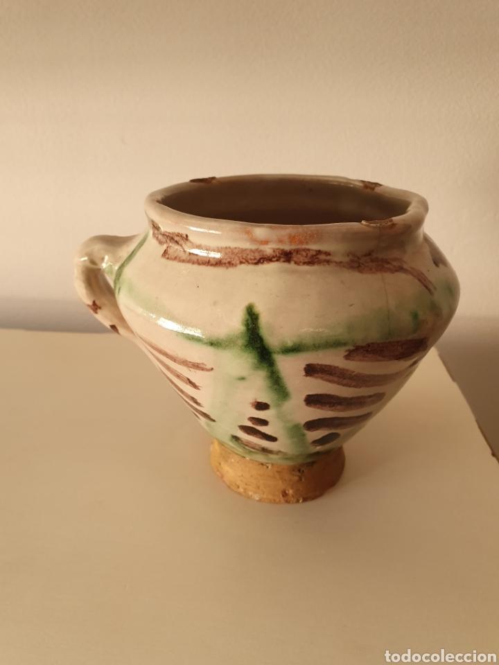 MORTERO TERUEL XVII XVIII (Antigüedades - Porcelanas y Cerámicas - Teruel)