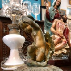Antigüedades: ANGELITO BRONCE. Lote 180513620
