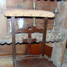 Antigüedades: ANTIGUA SILLA RECLINATORIO, BUEN ESTADO.W. Lote 180840032