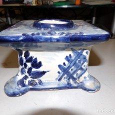 Antigüedades: ANTIGUO TINTERO PORCELANA. Lote 180842011