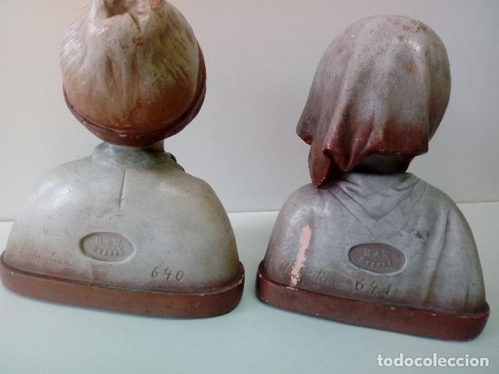 Antigüedades: PAREJA DE NIÑOS TERRACOTA FIRMADAS - Foto 7 - 180847661