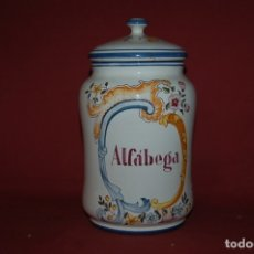 Antiquités: ALBARELO - BOTE DE FARMACIA, ALCORA, S. XX. Lote 180880520