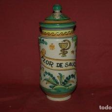 Antigüedades: ALBARELO - BOTE DE FARMACIA, PUENTE DEL ARZOBISPO, S. XX. Lote 180882942