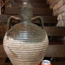 Antigüedades: ANTIGUO CANTARO DE ACEITE DE TIJOLA EN CERÁMICA DE (ALMERIA ). Lote 180893530