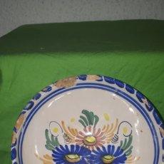 Antigüedades: ANTIGUO TAZÓN CUENCO CERAMICA POLO. Lote 180902952