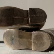 Antigüedades: BOTAS DE MONTAR SILVER PLATED (PLATA ENGLAND). Lote 180903251