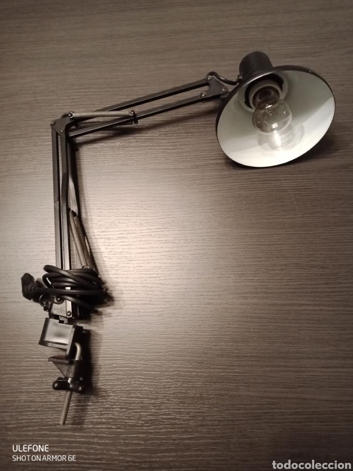 LÁMPARA FLEXO CORTA SOBREMESA FASE (Antigüedades - Iluminación - Lámparas Antiguas)