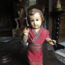 Antigüedades: PRECIOSO NIÑO JESÚS ANTIGUO. Lote 180915301