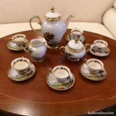 Antigüedades: JUEGO CAFÉ LIMOGES. Lote 180923461