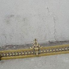 Antigüedades: PAREJA DE MORILLOS FRANCESES SXIX, EN BRONCE ALEGORIA DE MUSICA . Lote 180950413