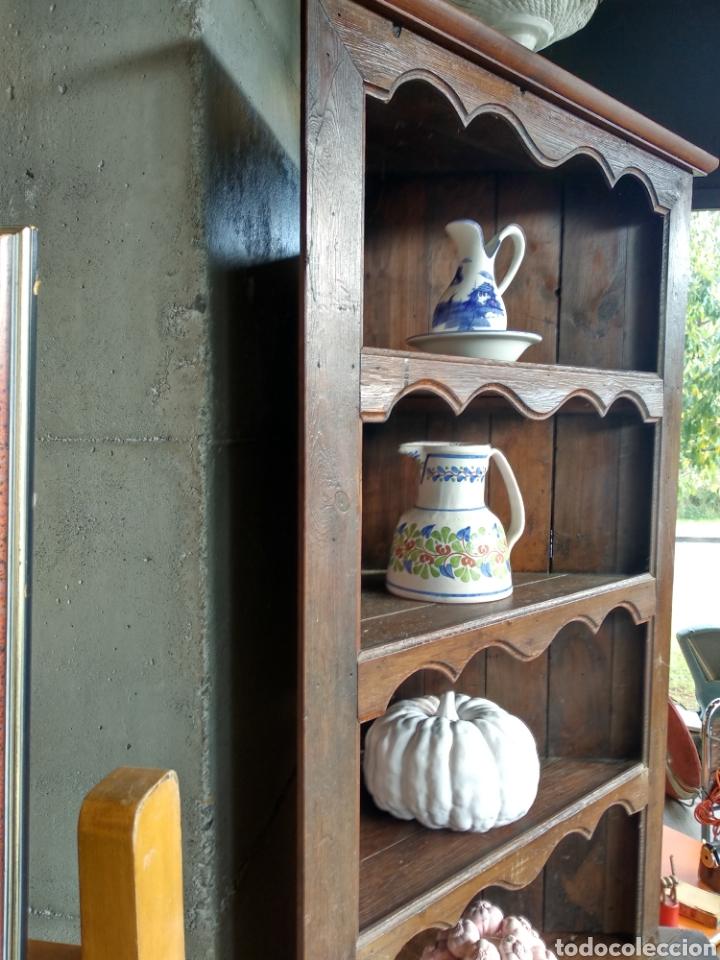 Antigüedades: Alacena vasca rinconera - Foto 6 - 180952543