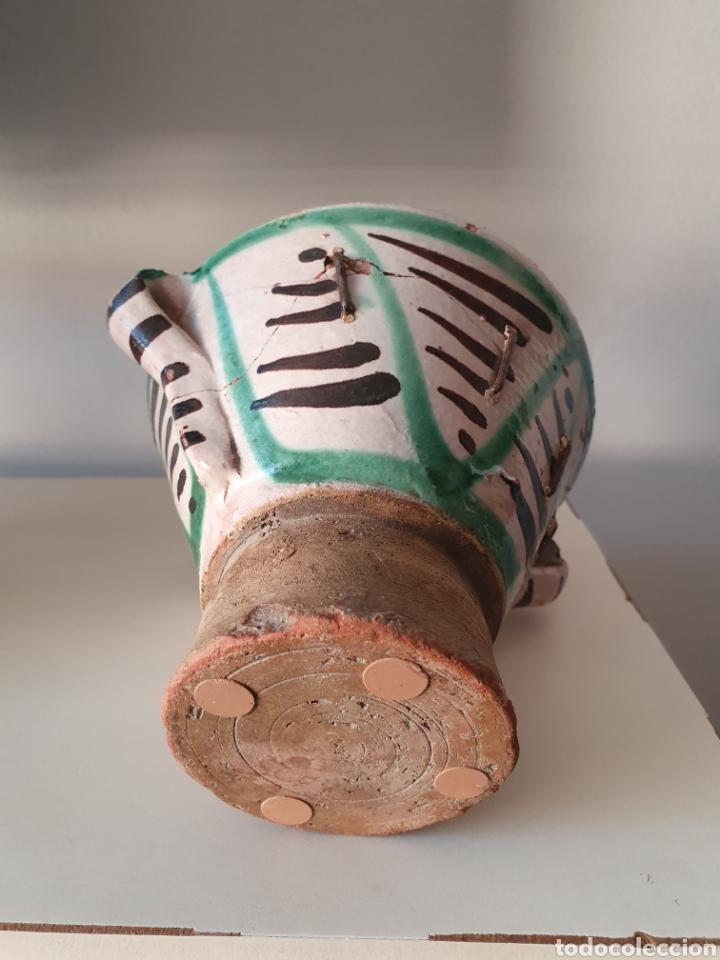 Antigüedades: Antiguo Mortero Teruel XVII XVIII - Foto 8 - 180954396