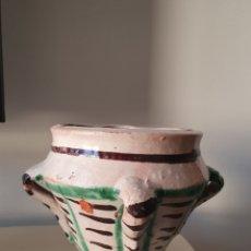 Antigüedades: ANTIGUO MORTERO TERUEL XVII XVIII. Lote 180954396