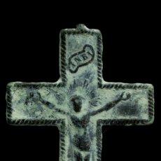 Antigüedades: CRUZ RELIGIOSA SIGLOS XVI-XVII, 32X21 MM.. Lote 180958285