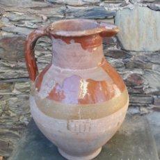 Antiquités: MEDIDA DE VINO EN CERAMICA CATALANA. Lote 180959537