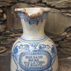 Antigüedades: JARRA VINO CERAMICA . Lote 180977962