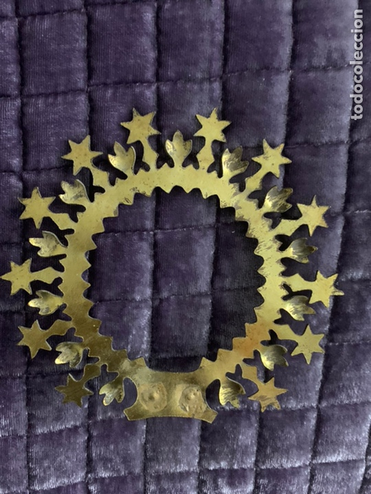 Antigüedades: Corona virgen - Foto 5 - 181011333