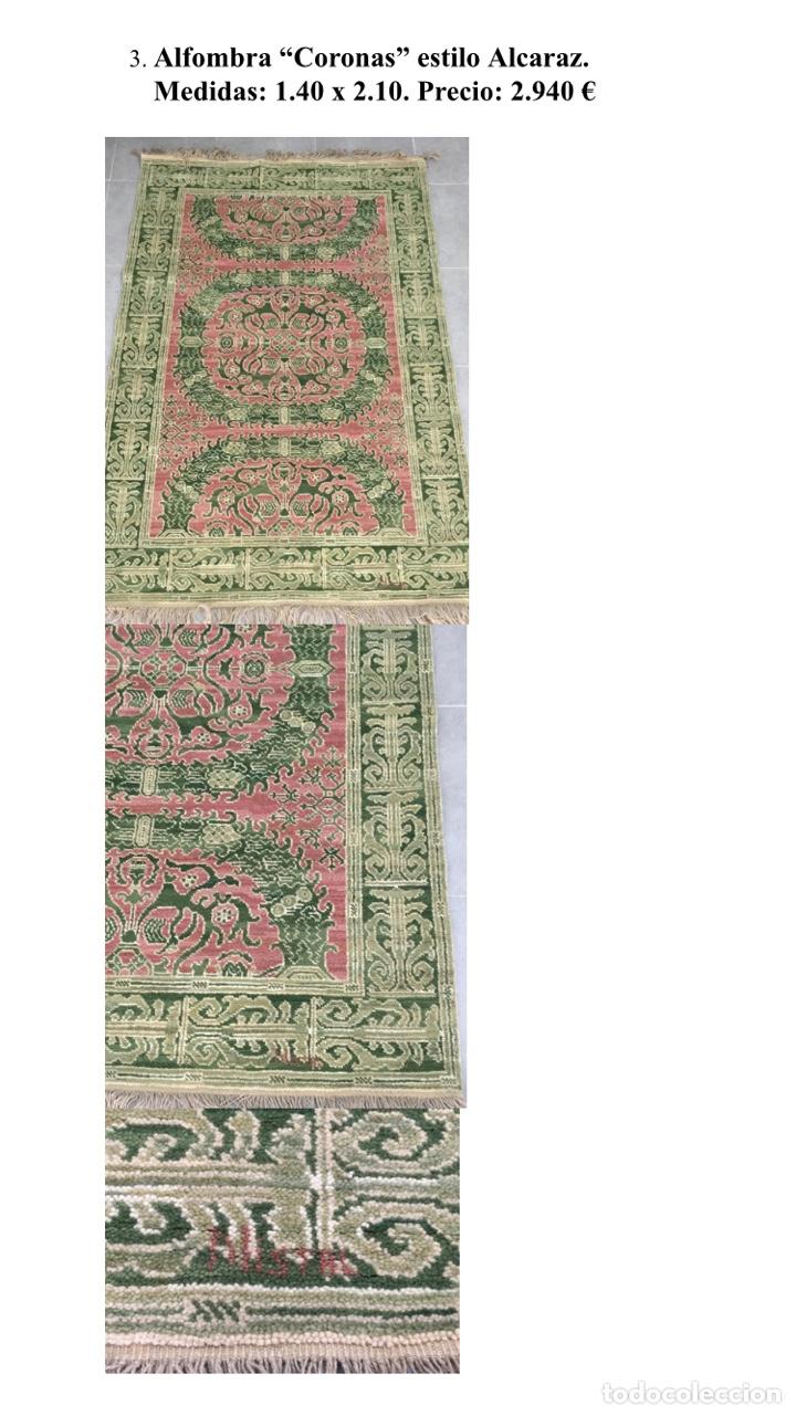 ANTIGUA ALFOMBRA NISTAL (Antigüedades - Hogar y Decoración - Alfombras Antiguas)