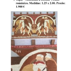 Antigüedades: ANTIGUO TAPIZ NISTAL. Lote 181016013