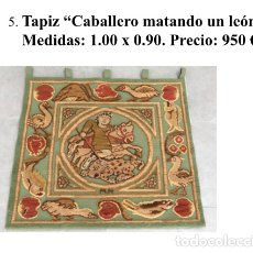 Antigüedades: ANTIGUO TAPIZ NISTAL. Lote 181016231