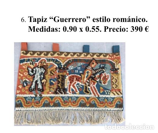 TAPIZ ANTIGUO NISTAL (Antigüedades - Hogar y Decoración - Tapices Antiguos)