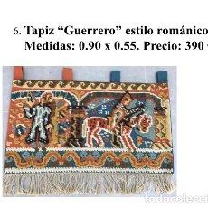 Antigüedades: TAPIZ ANTIGUO NISTAL. Lote 181016592