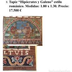 Antigüedades: ANTIGUO TAPIZ NISTAL. Lote 181017610