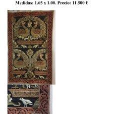 Antigüedades: ANTIGUO TAPIZ NISTAL. Lote 181017788
