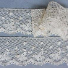 Antiquités: ANTIGUO ENCAJE DE VALENCIENNES PPIO. S. XX. Lote 195733071
